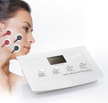 Elektro-Muskuläre-Stimulation (EMS), Fitness-Workout Gesicht